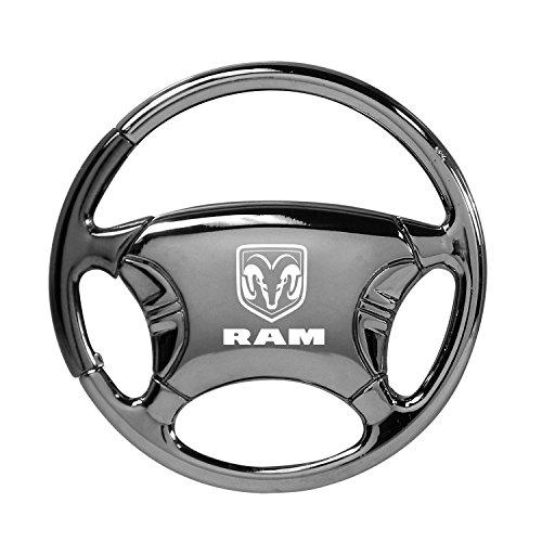 dodge-ram-black-chrome-steering-wheel-key-chain