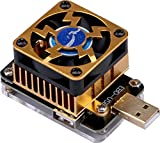 Yeeco EBD-USB + Belastung Prüfer QC2.0 / 3.0 MTK-PE Auslöser Stromspannung Strom Kapazität Test Monitor 21V 4A 35W Mobile Leistung Bank Testen