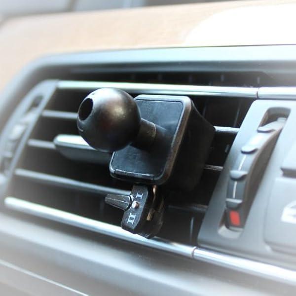 Autoscheich Navi Lüftung Halterung Halter Für Garmin Essential Nüvi Zumo Dezl Streetpilot 17mm Kugelkopf Auto
