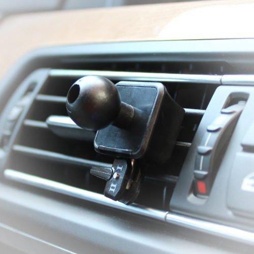 AutoScheich® Navi Lüftung Halterung Halter für Garmin Essential nüvi zumo dezl Streetpilot 17mm Kugelkopf Gebläse Für Boote