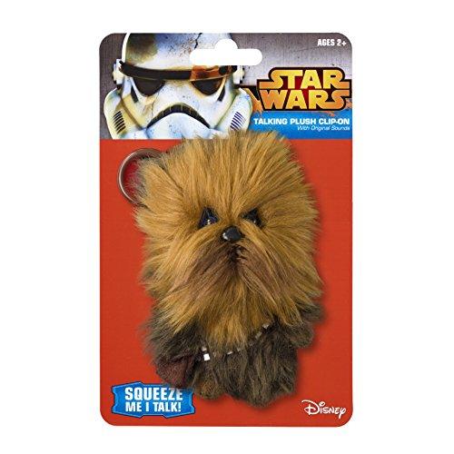 Star Wars Underground Toys Star Wars The Clone Wars 4 inch Talking Plush Clipon Chewbacca