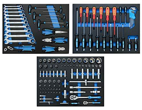 DeTec. Werkstattwagen blue Edition inkl. Werkzeug - 7