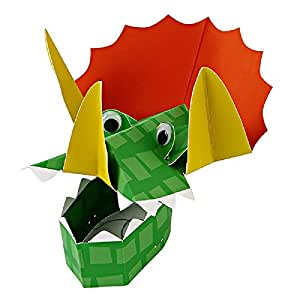 Pack of 8 Dinosaur Party Hats