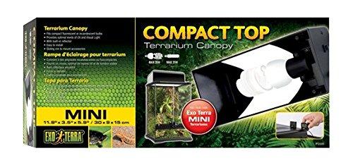 Exo Terra Compact Top Mini Terrarienabdeckung für Terrarien mit einer Breite von 30cm