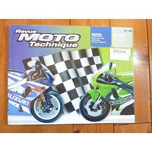 REVUE MOTO TECHNIQUE SUZUKI GSX-R 1000 Modèles U2K1-U2K2 de 2001 à 2002 KAWASAKI ZX-7R NINJA de 1996 à 2002 RRMT0128.1 - Réédition par ETAI