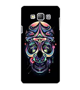 SAMSUNG GALAXY A7 SKULL Back Cover by PRINTSWAG