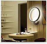 Asvert LED Wandleuchte 12W Metall Acryl moderne einfache Innenwandlampe Runde Wandleuchtung Perfekt für Flur, Wohnzimmer, Eingang, Schlafzimmer, Restaurant, Hotels usw. Kühles Weiß
