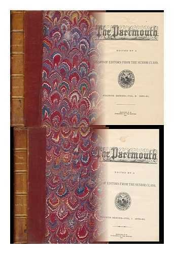 The Dartmouth (Two Volumes) Fourth Series - Vol. 1. 1879-80, Vol. 2. 1880-81