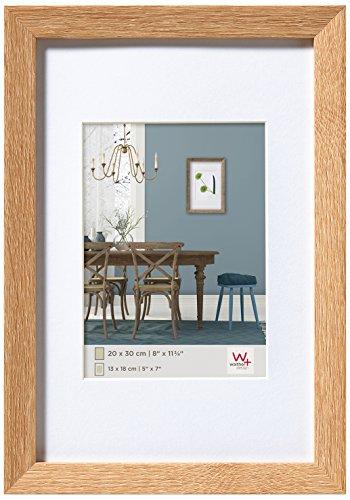 walther design EF070E Fiorito Holzrahmen 50x70 cm, eiche hell
