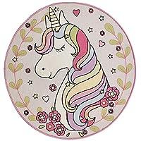 Magic Unicorn Circular Rug 100 x 100 cm