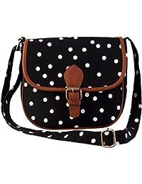 Lychee Bags Women's Sling Bag (Beige,Lbhbcp19Po)