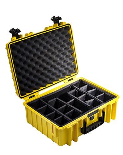 B&W outdoor.cases Typ 5000 mit variabler Facheinteilung (RPD) - Das Original -