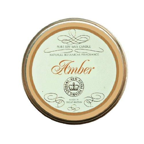 Kew Tinned Candles - Woodland Bougie dans une boîte métallique parfum ambre
