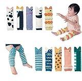 5 Paar Stulpen Beinlinge Legwarmers für Jungen und Mädchen Baby und Kleinkind-0-5 Jahre