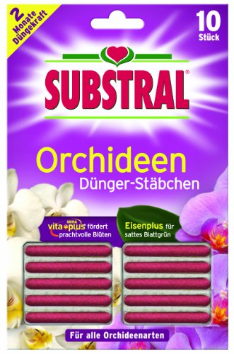 SUBSTRAL® Orchideen-Düngestäbchen 'Vita Plus', 10 Stück
