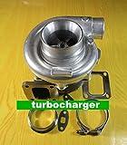 TURBOCOMPRESSEUR GOWE pour Turbine T76 T4 .81 R/A Compresseur logement .80 & R/A HUILE DE TURBOCOMPRESSEUR D'eau refroidis 1000HP Turbo Turbine