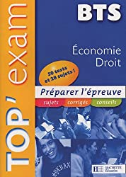 Top'Exam Economie Droit BTS