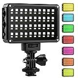 GVM LED 80 Dimmbar Ultra High Power Zweifarb-Panel Licht auf Digitalkamera Camcorder DSLR Video Licht für Canon, Nikon, Sony, Panasonic, Olymp, Beleuchtung
