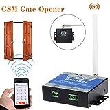 HKFV Drahtlose Fernbedienung EIN / Aus-Schalter Gratis Anruf SMS Remote Fernschalter RTU5024 GSM-Toröffner