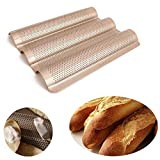 Best Baguette Pans - Outgeek Baking Pan Nonstick Kitchen Loaf Pan Bread Review