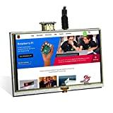 Elecrow 5 Zoll Touchscreen HDMI Monitor Kleine HD 800x480 TFT LCD Display für Raspberry Pi B + 2B 3B