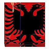 Disagu Design Skin for Sony PS4 Liegend + Controller - Motif Albanien