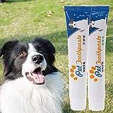 YO-HAPPY Natural Pet Zahnpasta Essbare Hundewelpe Katze Zahnreinigung Zahnpasta Oral Care Pet Supplies