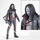 McFarlane Toys The Walking Dead Comic Book Michonne Exclusive Action Figure [Bloody Black & White]