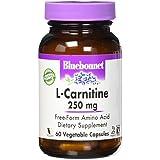 Bluebonnet Nutrition, L-Carnitine, 250 mg, 60 Capsules végétales
