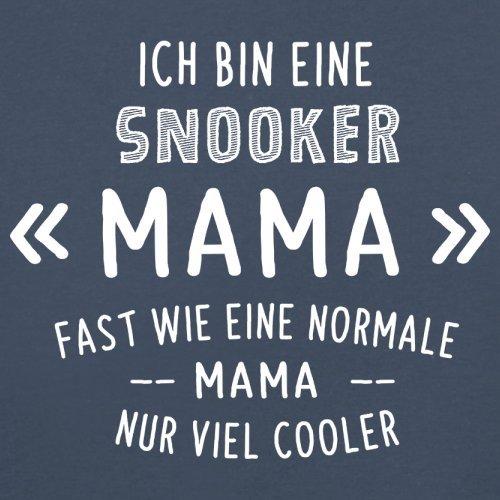 Ich bin eine Snooker Mama - Herren T-Shirt - 13 Farben Navy
