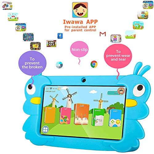 tablet dragon touch Dragon Touch Tablet per Bambini 7 Pollici 32 GB Rom Android 6 Wi-Fi e Bluetooth IPS HD 1024*600 Quad Core Kidoz e Google Play preinstallato con Kid-Proof Custodia (G5)