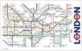 London Underground Map Tea Towel (ba)