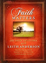 Faith Matters by Leith Anderson (2011-01-01)