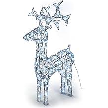 Weihnachtsbeleuchtung Rentier Beweglich.Weihnachtsbeleuchtung Aussen Rentier