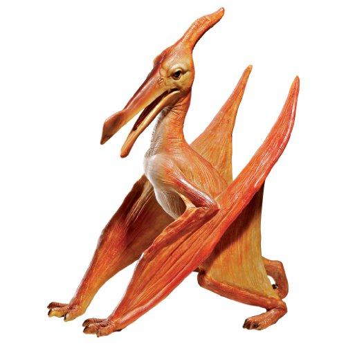 Design Toscano Pterodactyl Jurassique à l'échelle Statue de Dinosaure, Multicolore, 16,5 x 29 x 35,5 cm