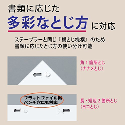 No needle stapler Kokuyo <Ha Linux> (desktop 12 sheets) SLN-MS112D (japan import) - 6
