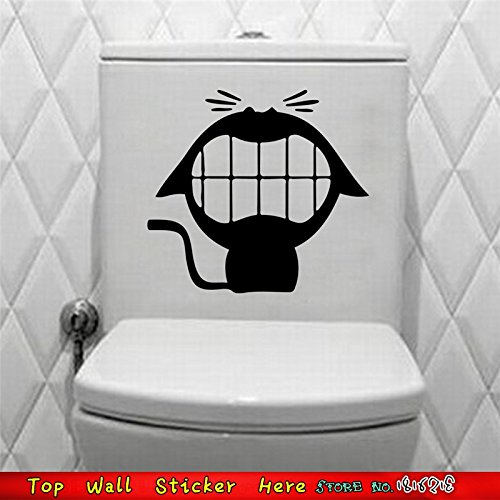 divertente-gatto-grande-bocca-denti-wc-stickers-wall-stickers-casa-decor-e-servizi-igienici-sticker-