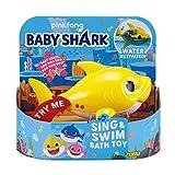 ZURU ROBO ALIVE JUNIOR Baby Shark Battery-Powered Sing and Swim Bath Toy
