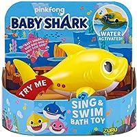 ZURU ROBO ALIVE JUNIOR-Battery-Powered Juguete de baño para Cantar y Nadar Colores Surtidos (25282A)