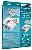 Data Becker 311204 Farbe-OHP Folie für Laser Drucker