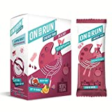 ON THE RUN Fig and Date Energy Bar (Pack of 6x30 g)