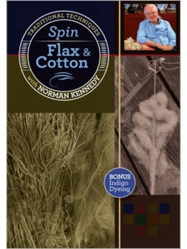 spin-flax-and-cotton-traditional-techniques-with-norman-kennedy