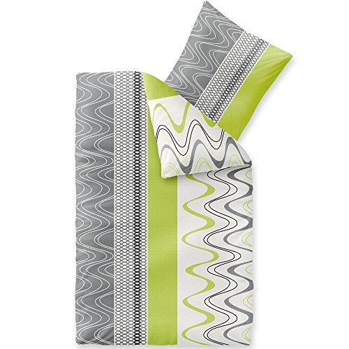 CelinaTex Bettwäsche 155x220 Bettgarnitur Baumwolle 80x80 Kissenbezug Reißverschluss Enjoy Lilly 5001075
