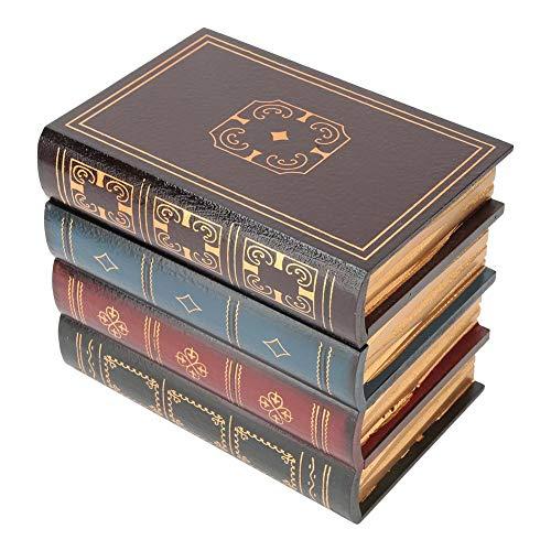 Marhynchus Buch Form Aufbewahrungsbox, Europäischen Stil Dekorative Box Gefälschte Buch Box Geheimnis Versteckte Box Regal Dekoration(#1)
