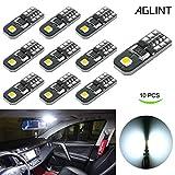 AGLINT Ampoules T10 LED CANBUS 12V Blanc Pas De Polarité Conçu W5W Wedge Intérieur De Voiture Lumière Dôme Feux De Plaque D'immatriculation