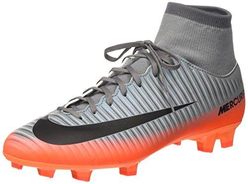 Nike Herren Mercurial Victory VI CR7 DF FG Fußballschuhe, Grau (Cool MTLC Hematite-Wolf Grey-total), 41 EU