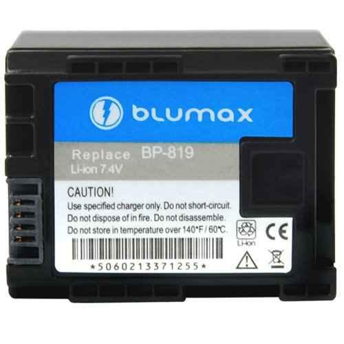 Blumax Akku 7.4V 1700mAh für Canon BP-819