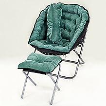 GWDJ Tumbonas tumbonas Simple Colorido Ocio Sofá/sillas/Oficina Sala de Estar Mini Siesta