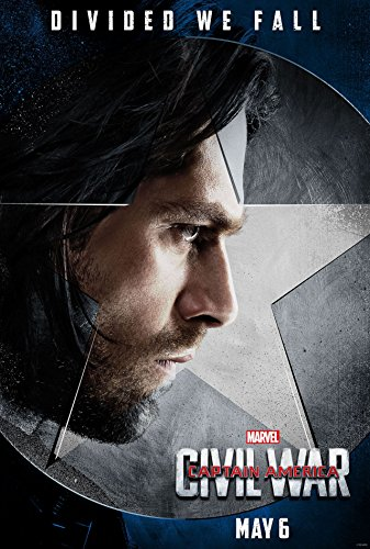 CAPTAIN AMERICA 3 : CIVIL WAR - US Imported Movie Wall Poster Print - 30CM X 43CM Brand New Winter Soldier