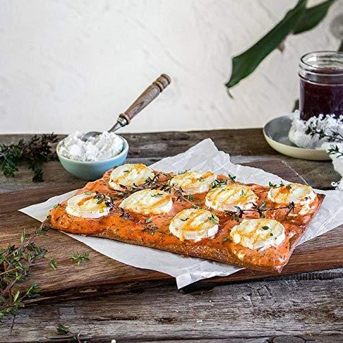 Lizza Low Carb Pizzaböden aus Leinsamen und Chiasamen - 4